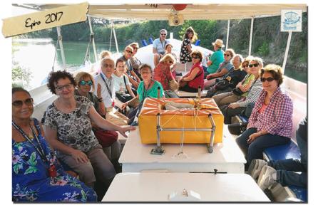 Viaggio in Epiro - in barca sul fiume Acheronte