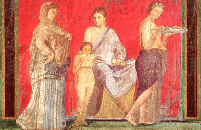 Flumena pompei - La Villa dei Misteri