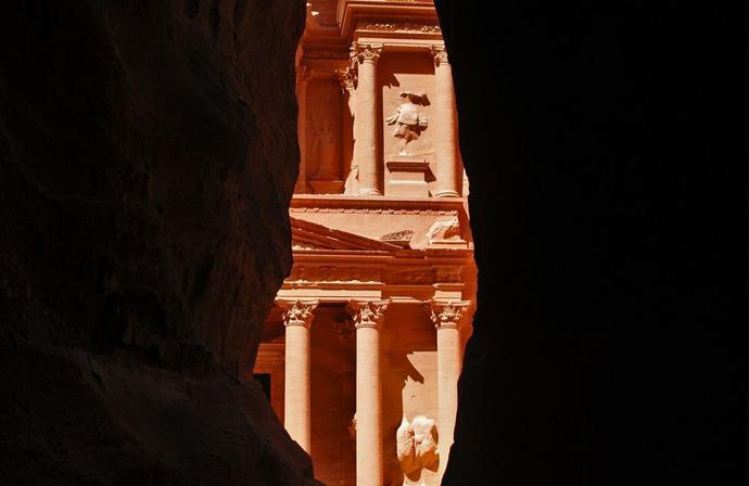 Petra - ingresso alla città